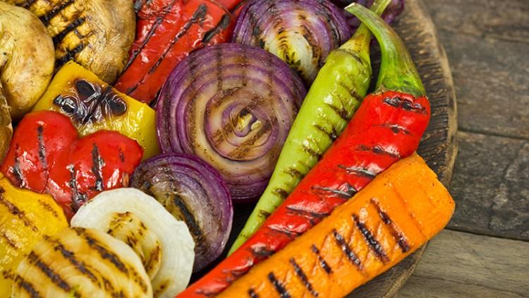 Warzywa nagrilla tonic trudnego!