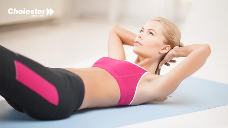 Ćwiczenia nabrzuch – aerobiczna 6 Weidera