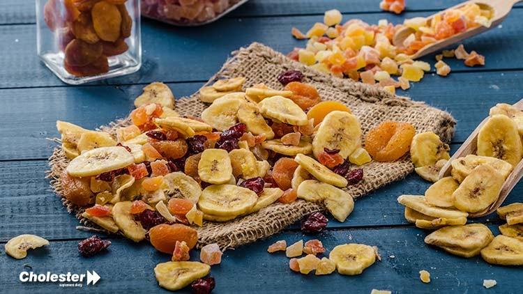 Owoce suszone – zdrowa przekąska