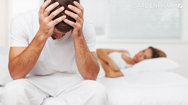 Męskie problemy zerekcją podczas stosunku
