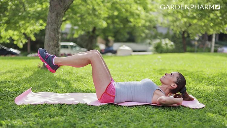Ćwiczenia nóg wplenerze