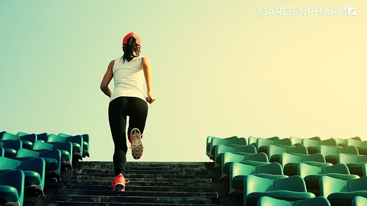 Trening cardio naświeżym powietrzu